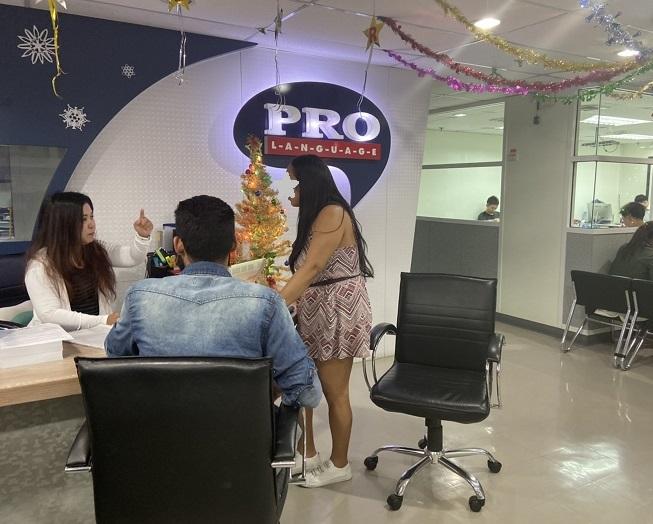 バンコクの学生ビザが取得できる  Pro Language