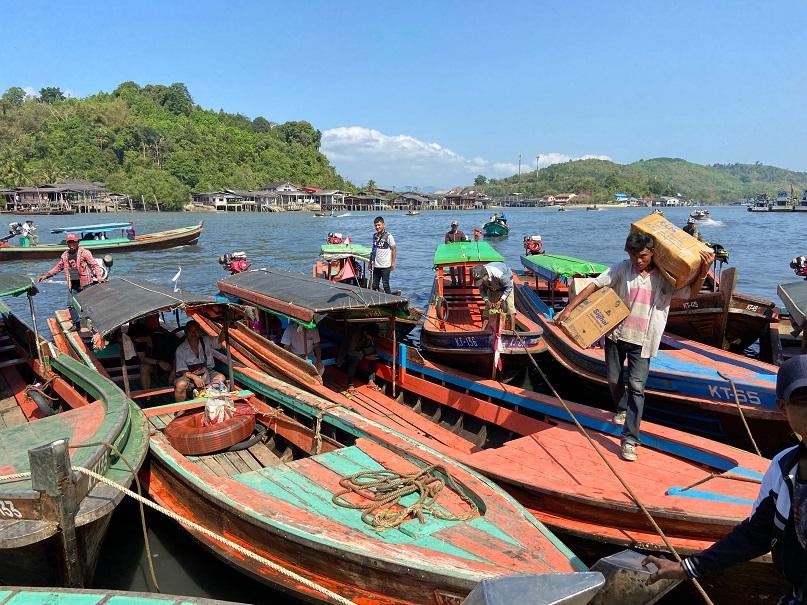 ミャンマー最南端の街、コータウン