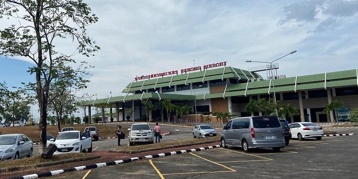 Ranong airport ラノーン空港