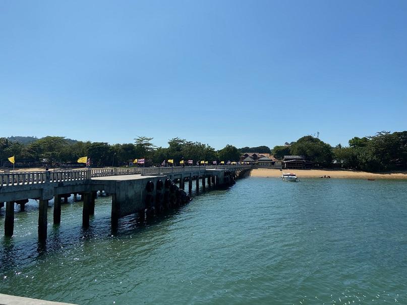 パヤム島 港 koh phayam pia