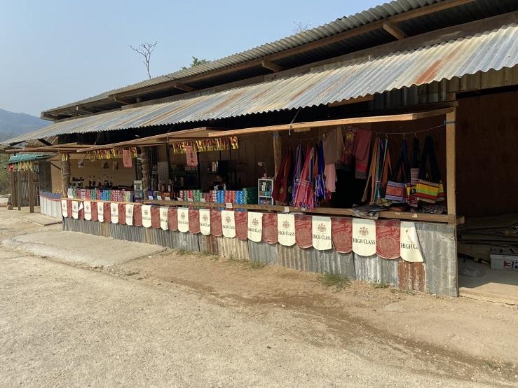 ミャンマー ティーキー国境デューティーフリー