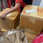 バンコクから日本へ。コロナで発送停止直前に送った荷物、無事届きました。